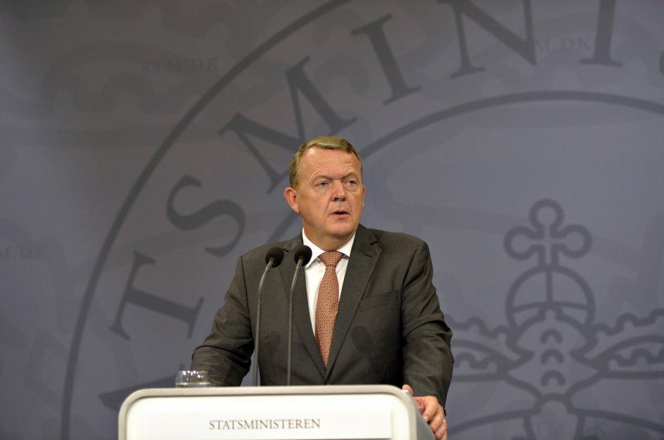 Lars Løkke Rasmussen, Photo: Ólafur Steinar Gestsson/Scanpix
